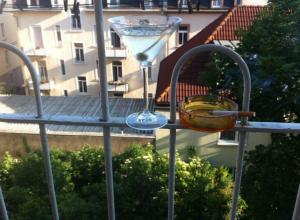 Balkon. Party. Perfekt.