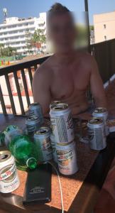 Dieser Mann löschte seinen Nachdurst mit Havanna-Cola